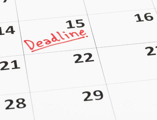 2019 Tax Deadline