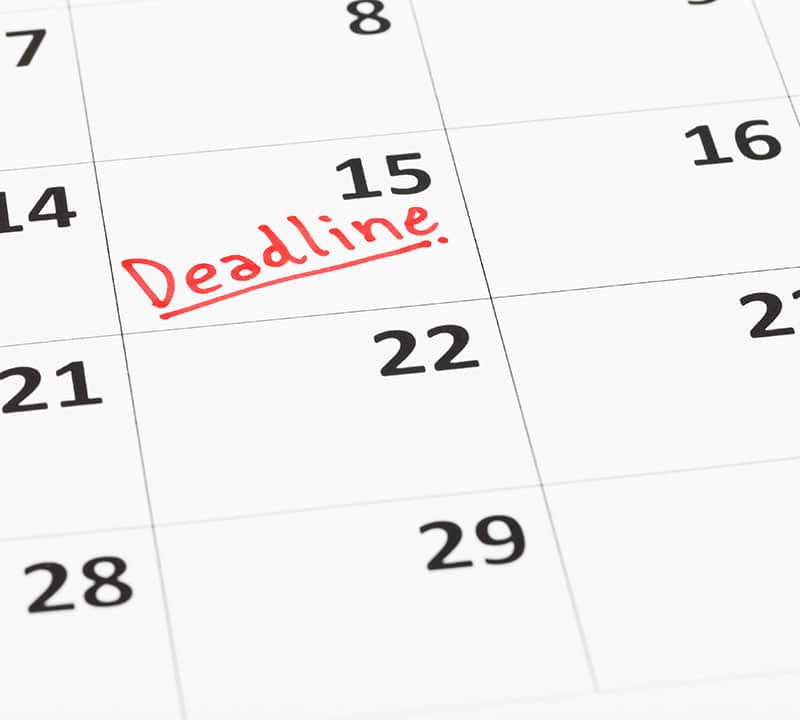 Ample Finance can help you quickly bring your taxes up to date before the 2018 tax return deadline